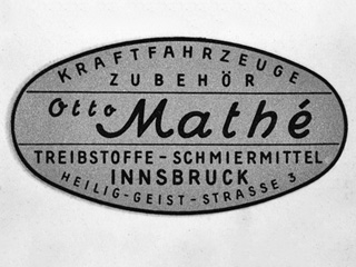 [Translate to English:] Otto Mathé Schmierstoffe