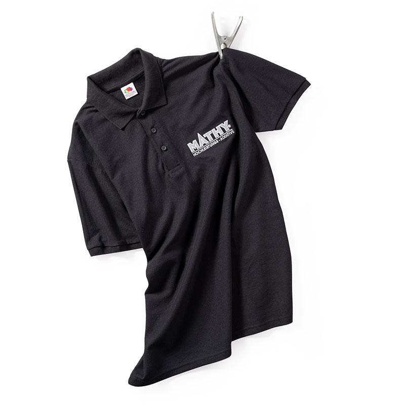 MATHY Kurzarm - Polo-Shirt L
