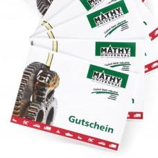 MATHY - Gutschein