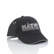MATHY-Baseballcap Schwarz-Weiß