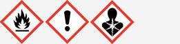Gefahrgut: GHS02, GHS07 und GHS08