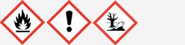 Gefahrgut: GHS02, GHS07 und GHS09