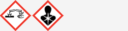Gefahrgut: GHS05 und GHS08
