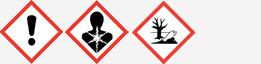 Gefahrgut: GHS07, GHS08 und GHS09