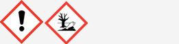 Gefahrgut: GHS07 und GHS09