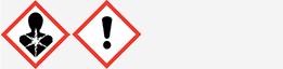 Gefahrgut: GHS07 und GHS08